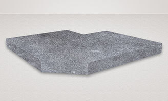 Natural stone plate