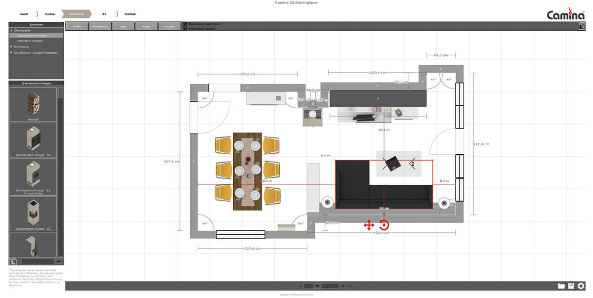 Chimney planner preview