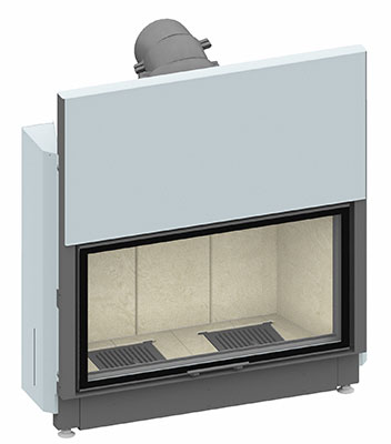 Fireplace insert Lina 10057 h